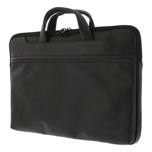 """Notebook Konstläder väska upp till 15.6"""" - Svart"""