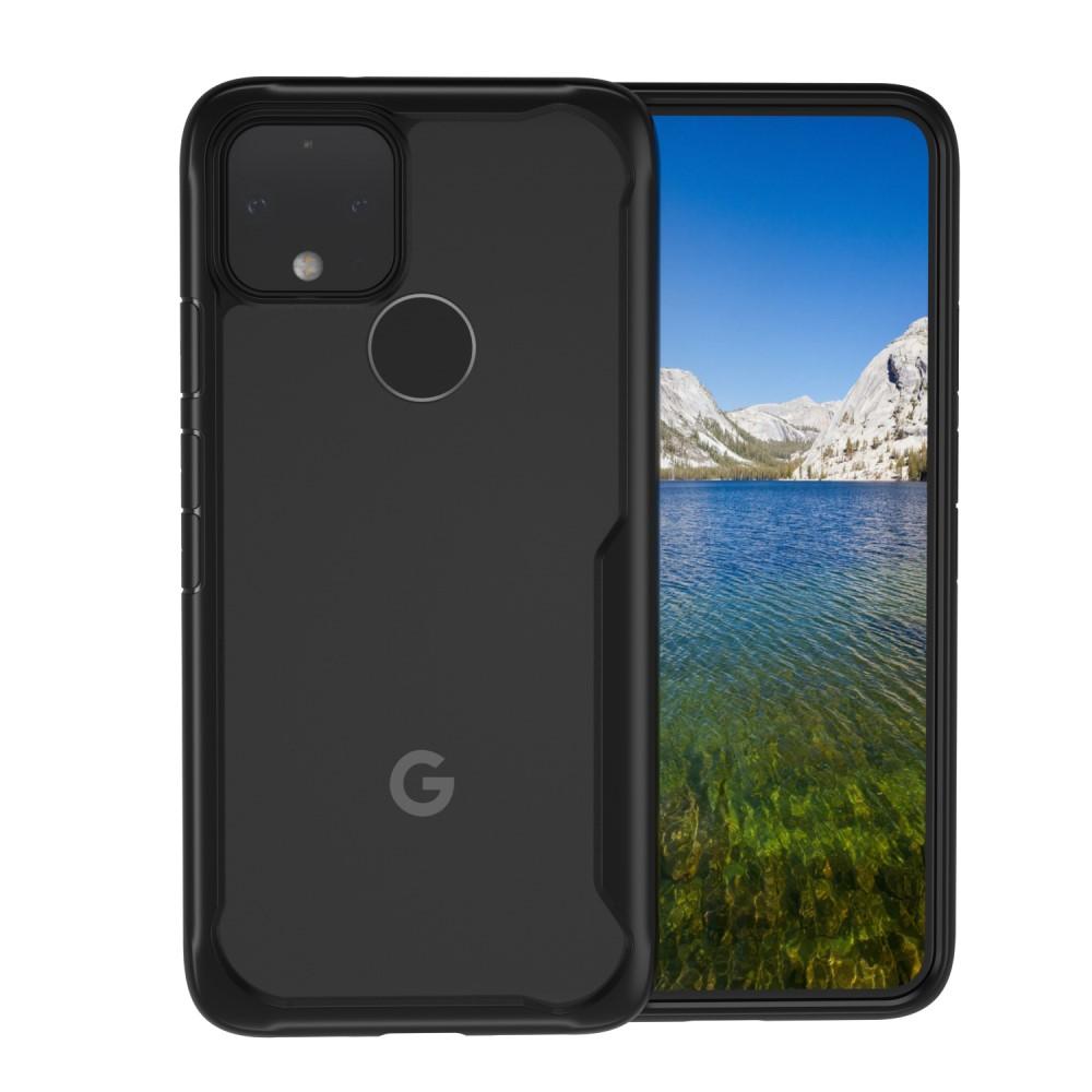 Hybrid Shockproof Mobilskal Google Pixel 5 - Svart