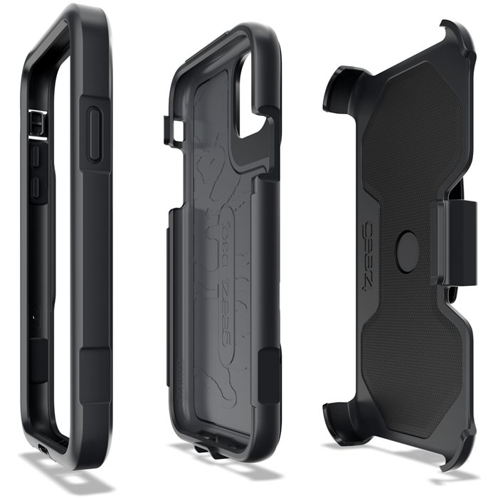 Gear4 D3O Platoon With Holster iPhone 11 - Black