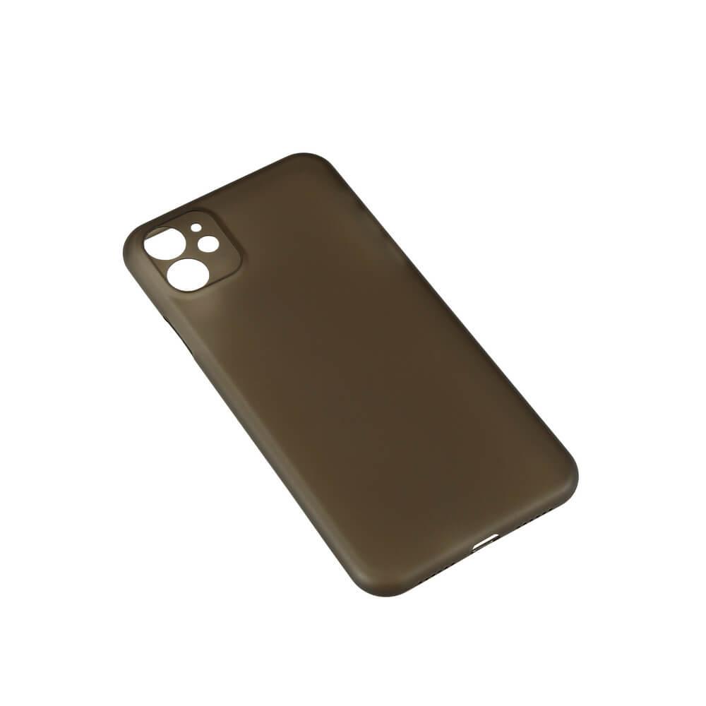 GEAR Mobilskal Ultraslim iPhone 11 - Svart Semitransparent