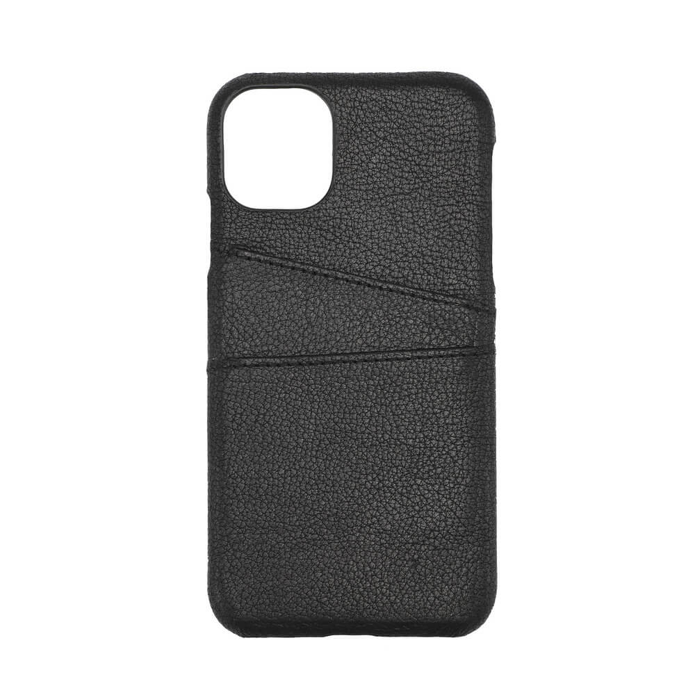 Onsala Collection Mobilskal Skinn iPhone 11 - Svart