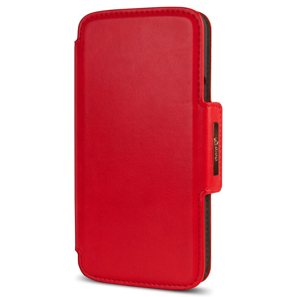 Marble Grid Plånboksfodral iPhone 12 & 12 Pro - Magenta