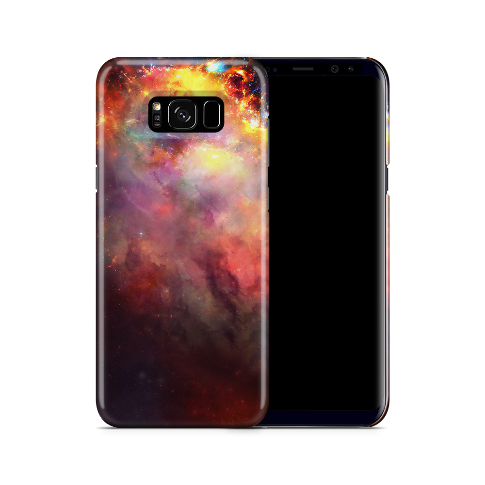 Skal till Samsung Galaxy S8 Plus - Rymden - Svart