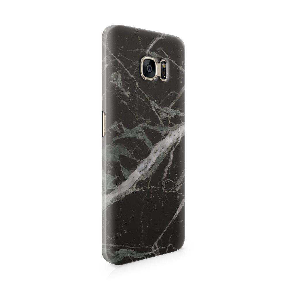 Mobilskal   Galaxy S7   Marble - Svart