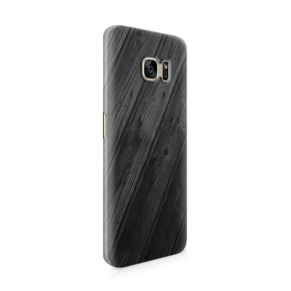 Skal till Samsung Galaxy S7 Edge - Svart trä