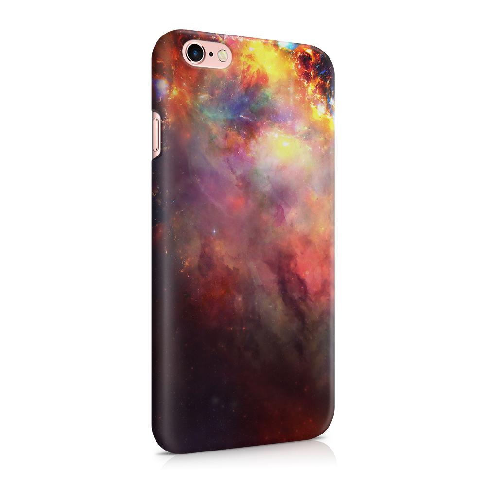 Skal till Apple iPhone 6(S) - Rymden - Svart