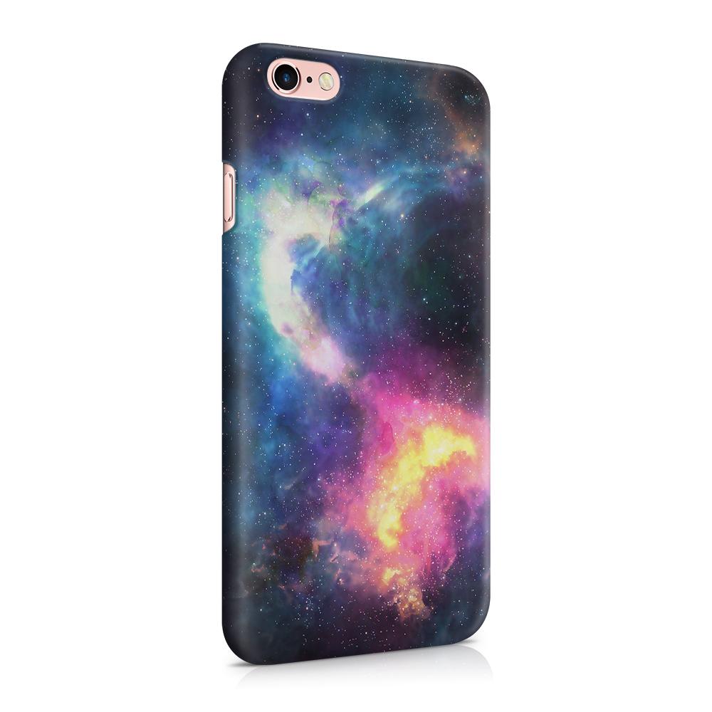 Skal till Apple iPhone 6(S) - Rymden - Svart/Blå