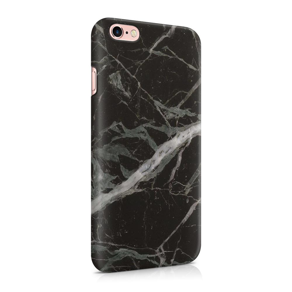 Skal till Apple iPhone 6(S) - Marble - Svart