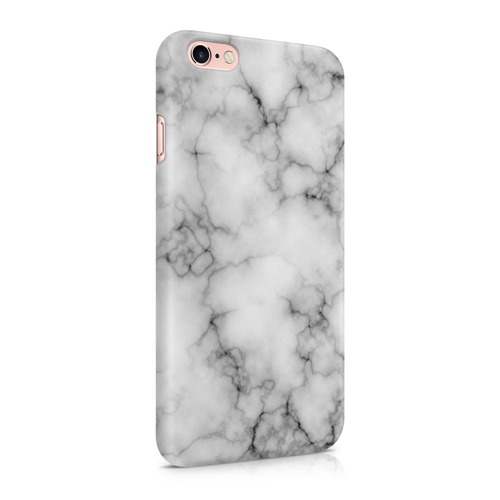 Skal till Apple iPhone 6(S) - Marble - Vit/Svart