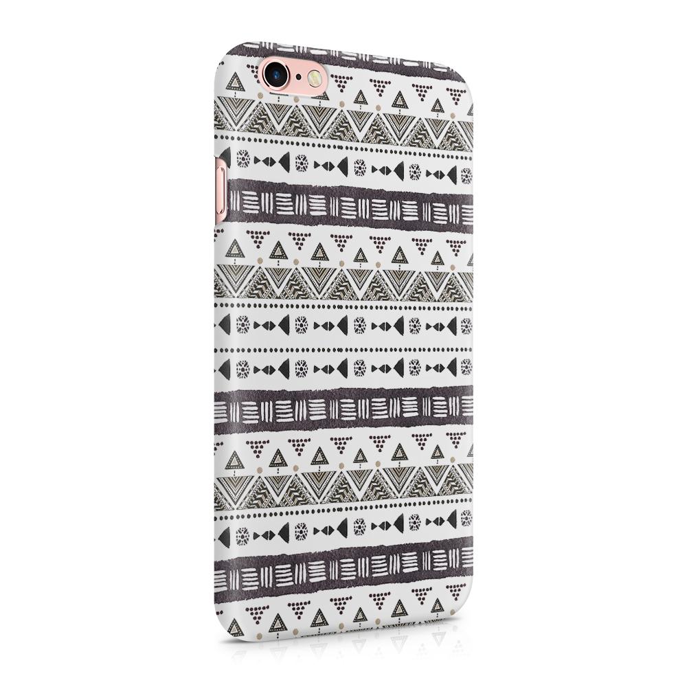 Skal till Apple iPhone 6(S) - Mönster - Svart/Vit