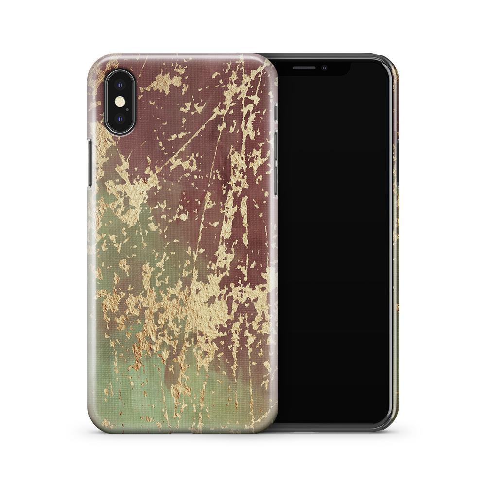 Skal till Apple iPhone X - Hortensia - Svart