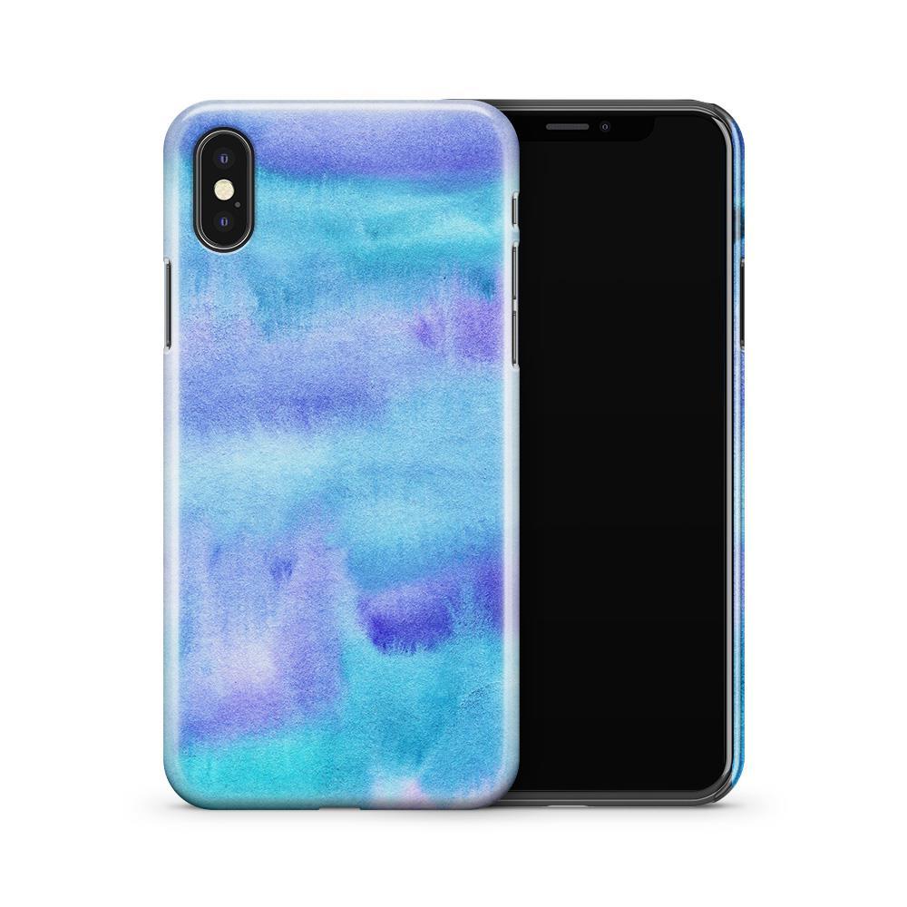 Skal till Apple iPhone X - Rymden - Svart/Blå