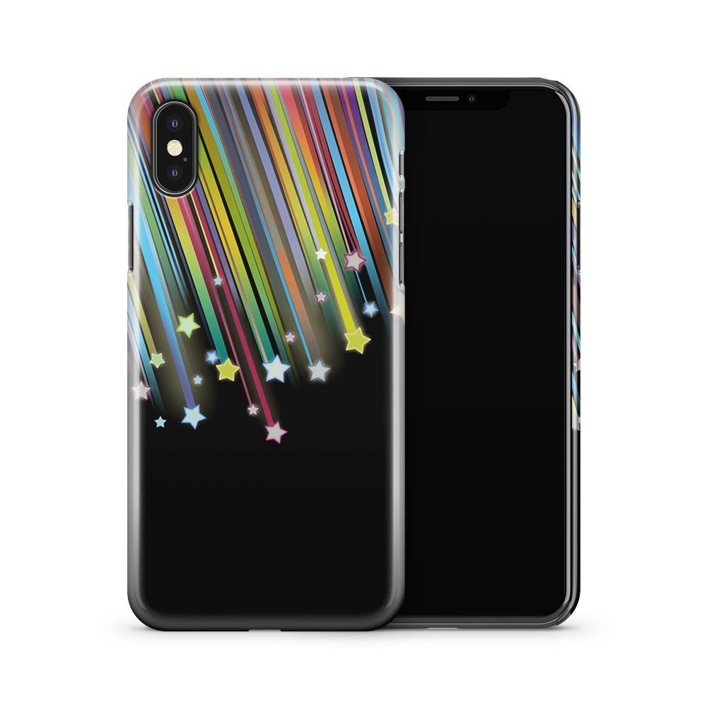 Skal till Apple iPhone X - Marble - Svart