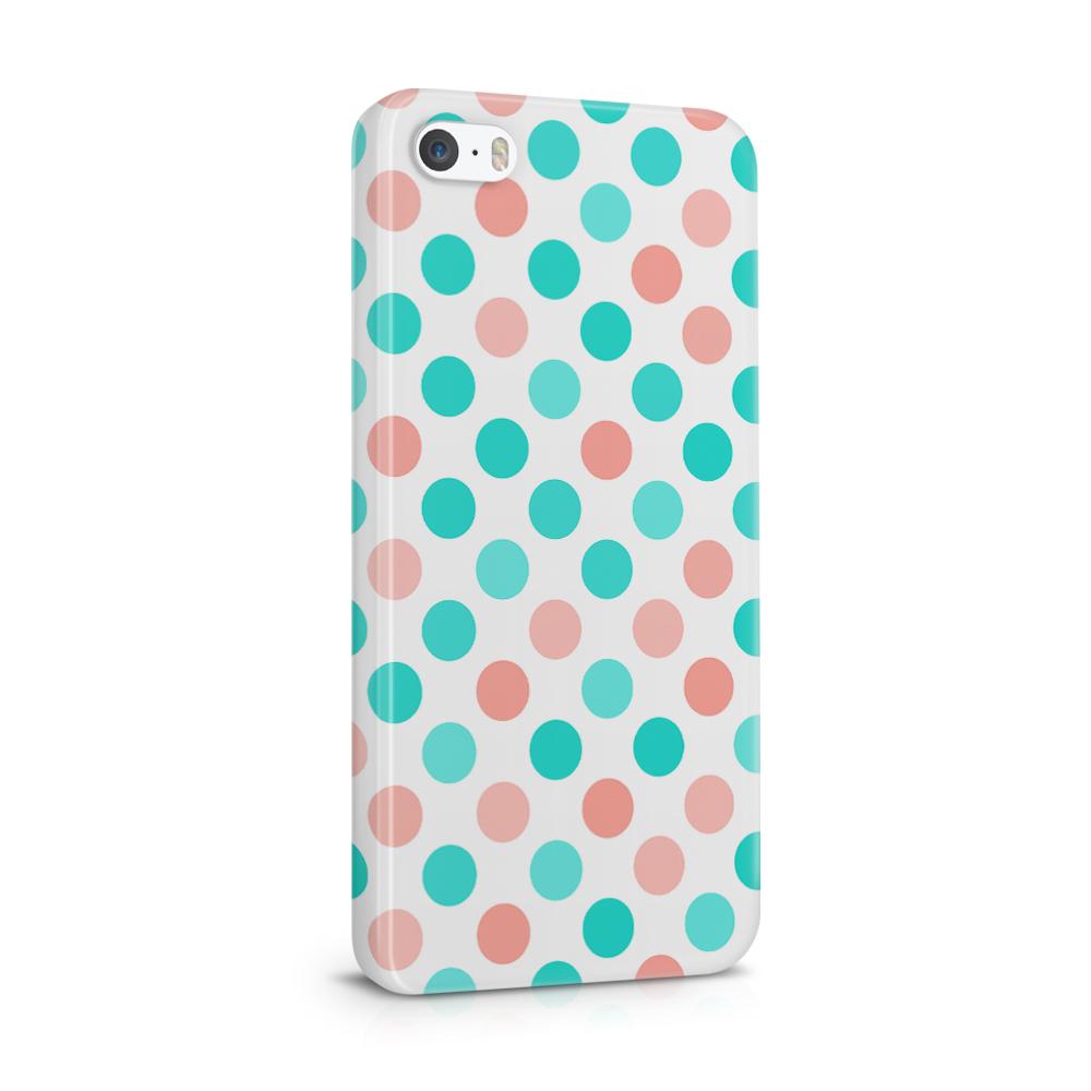 Skal till Apple iPhone SE/5S/5 - PolkaDots