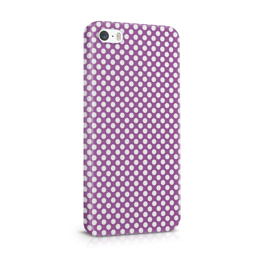 Skal till Apple iPhone SE/5S/5 - PolkaDots
