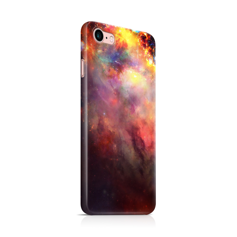 Skal till Apple iPhone 7/8 - Rymden - Svart