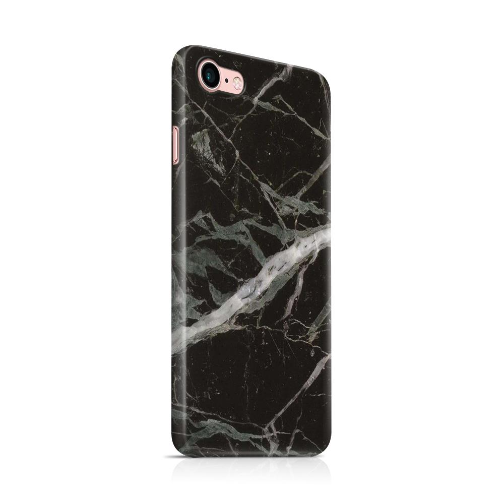 Skal till Apple iPhone 7/8 - Marble - Svart