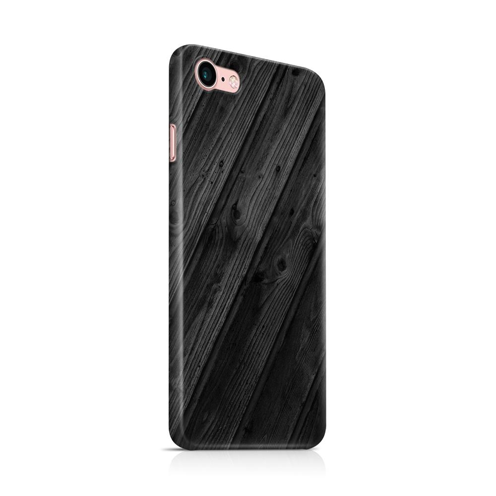 Skal till Apple iPhone 7/8 - Svart trä