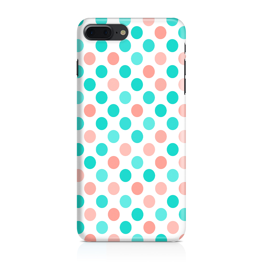 Skal till Apple iPhone 7/8 Plus - PolkaDots