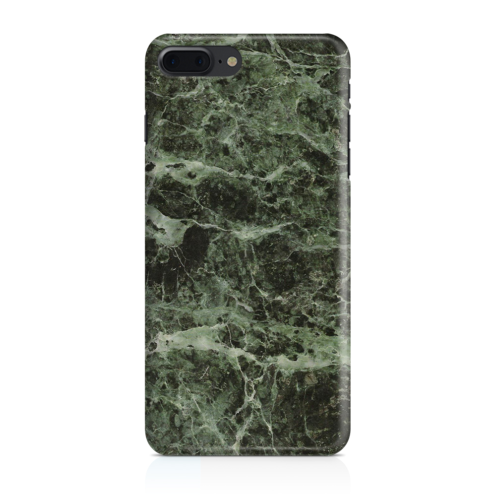 Skal till Apple iPhone 7/8 Plus - Marble - Grön/Svart