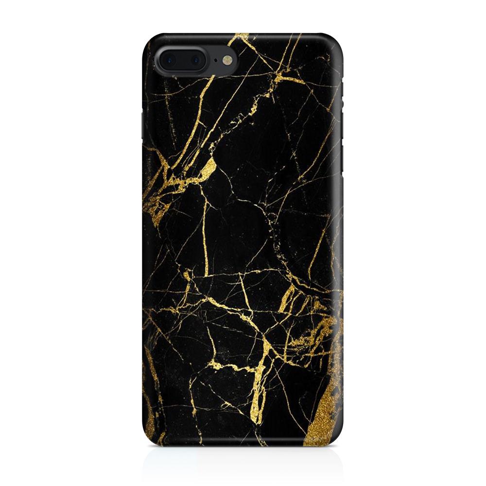 Skal till Apple iPhone 7/8 Plus - Marble - Svart