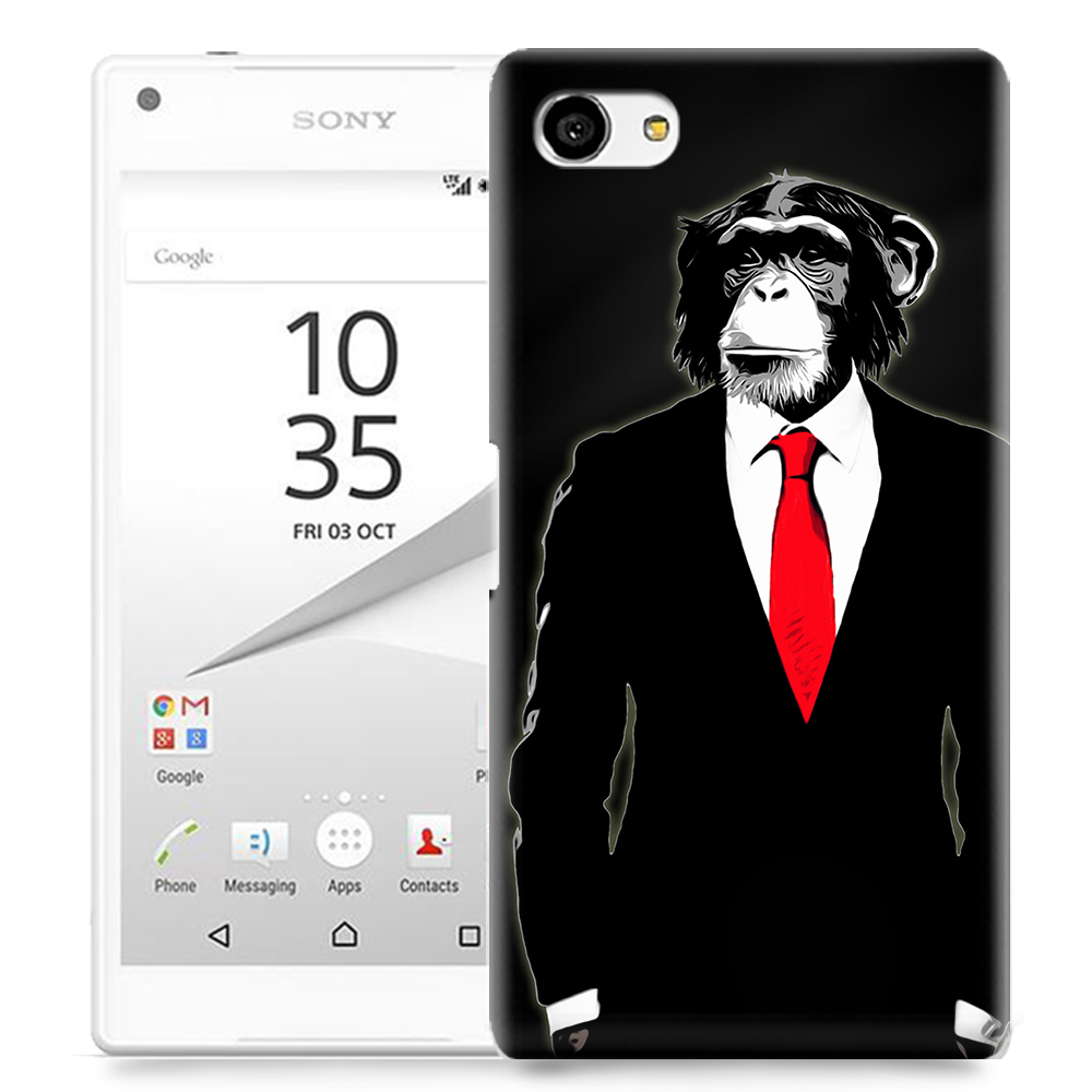 Skal till Sony Xperia Z5 Compact - Domesticated Monkey