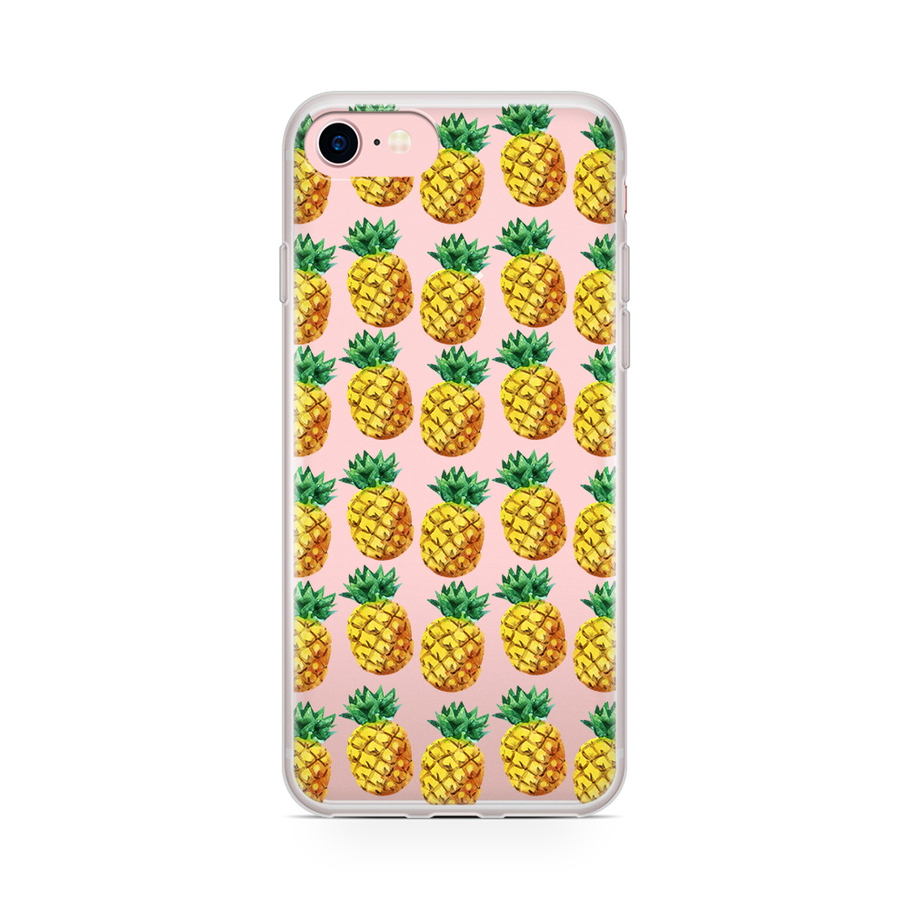 Svenskdesignad mobilskal till Apple iPhone 7 Plus - Ananas 062f2ed232e0c