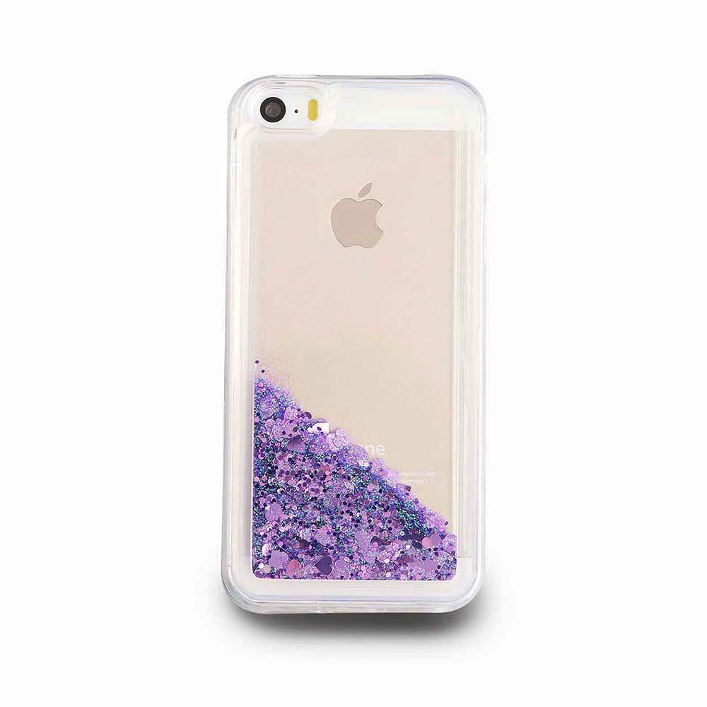lila mobilskal iphone 5