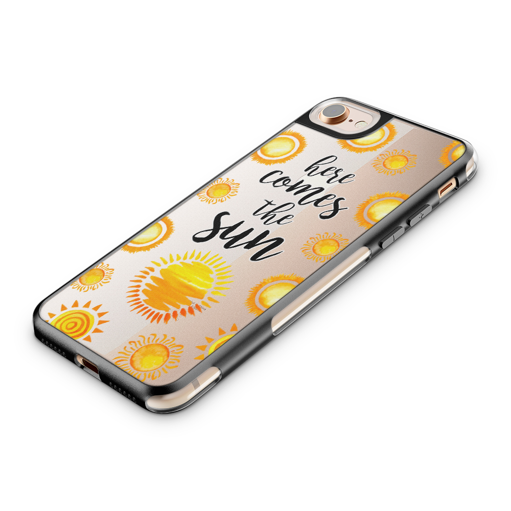 Fashion mobilskal till Apple iPhone 7 - Here Comes the Sun