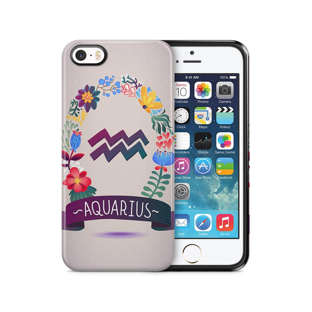 Tough mobilSkal till Apple iPhone SE/5S/5 - AQUARIUS