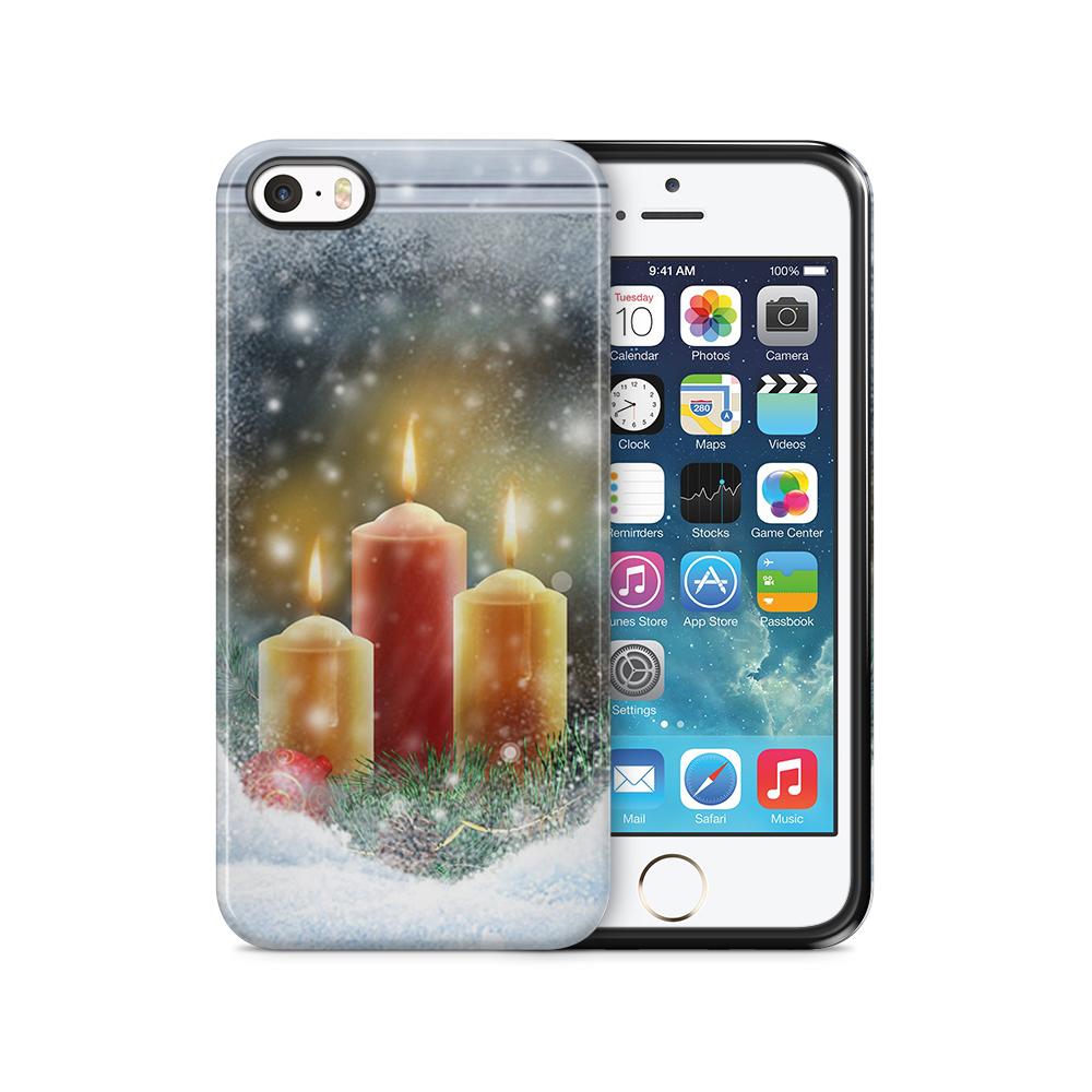 Tough mobilSkal till Apple iPhone SE/5S/5 - Juleljus
