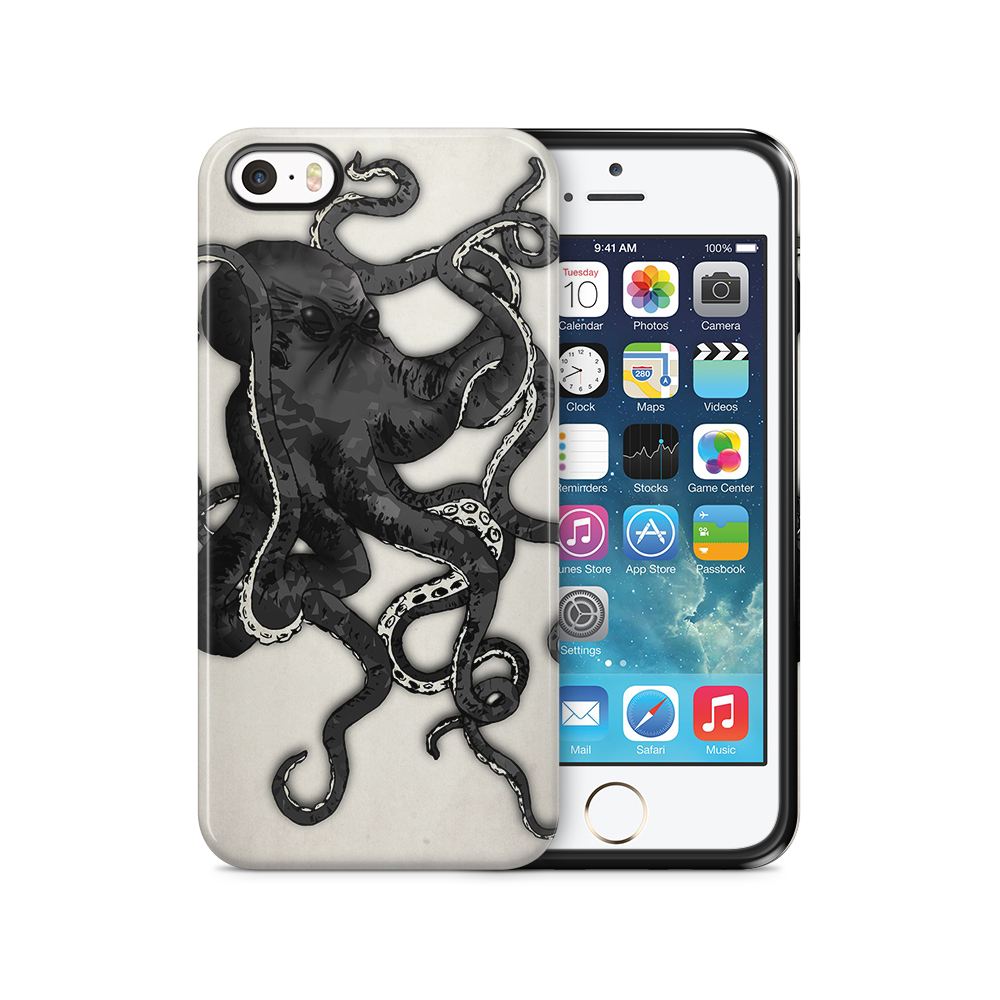 Tough mobilSkal till Apple iPhone SE/5S/5 - Octopus