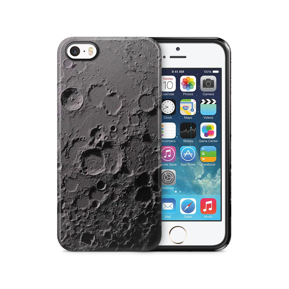 Tough mobilSkal till Apple iPhone SE/5S/5 - Måne
