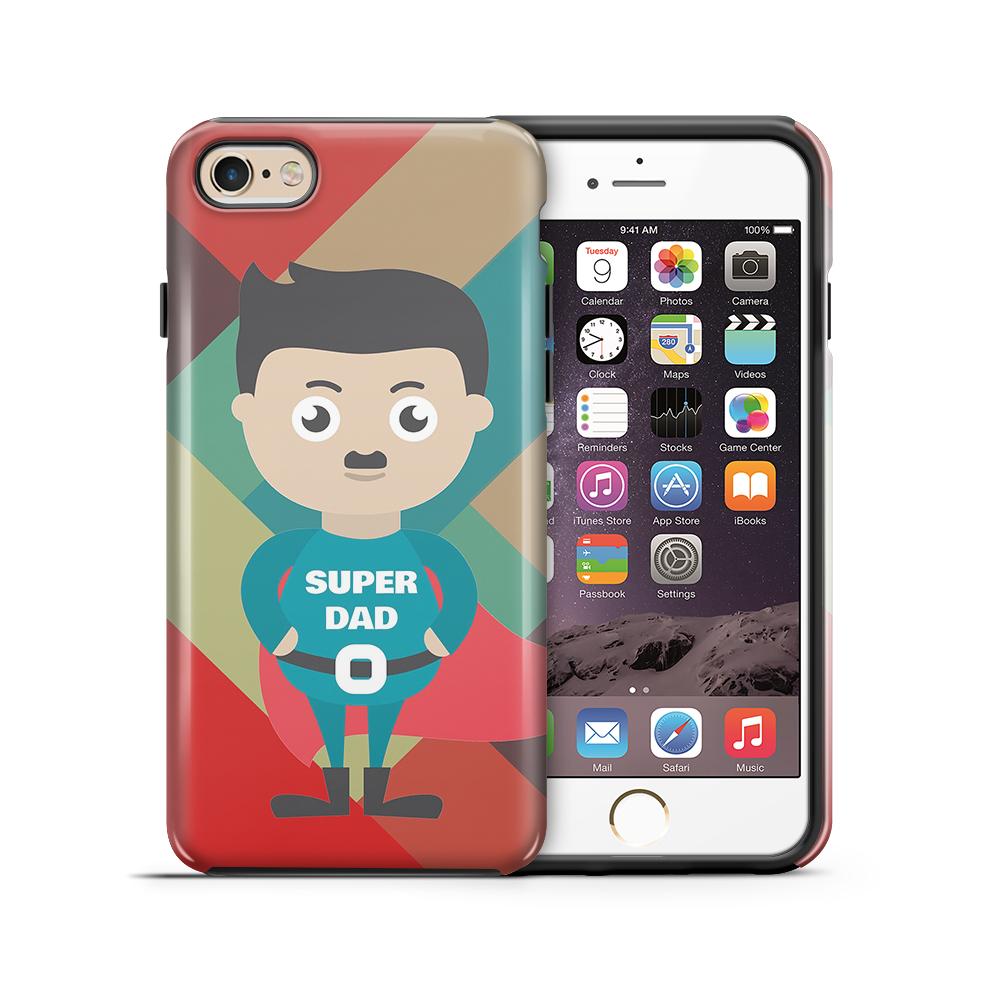 Tough mobilskal till Apple iPhone 6(S) Plus - Super dad