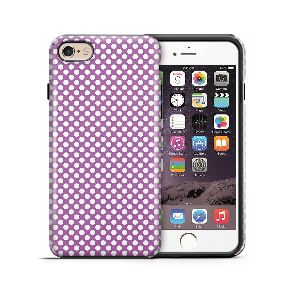 Tough mobilskal till Apple iPhone 6(S) Plus - PolkaDots