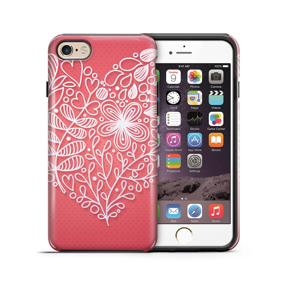 Tough mobilskal till Apple iPhone 6(S) Plus - Valentine