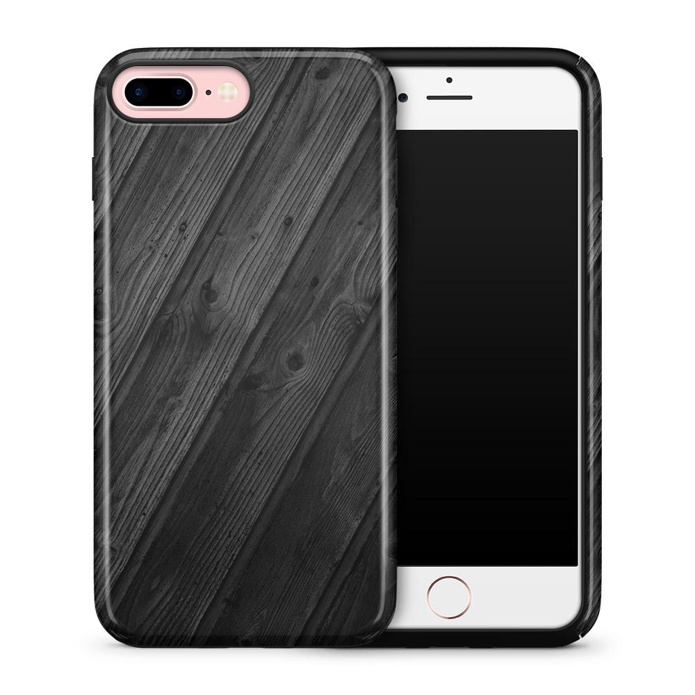 Tough mobilskal till Apple iPhone 7 Plus - Svart trä
