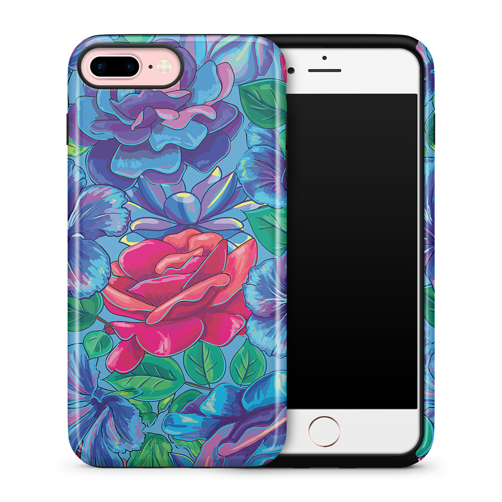 Tough mobilskal till Apple iPhone 7 Plus - Retro Roses
