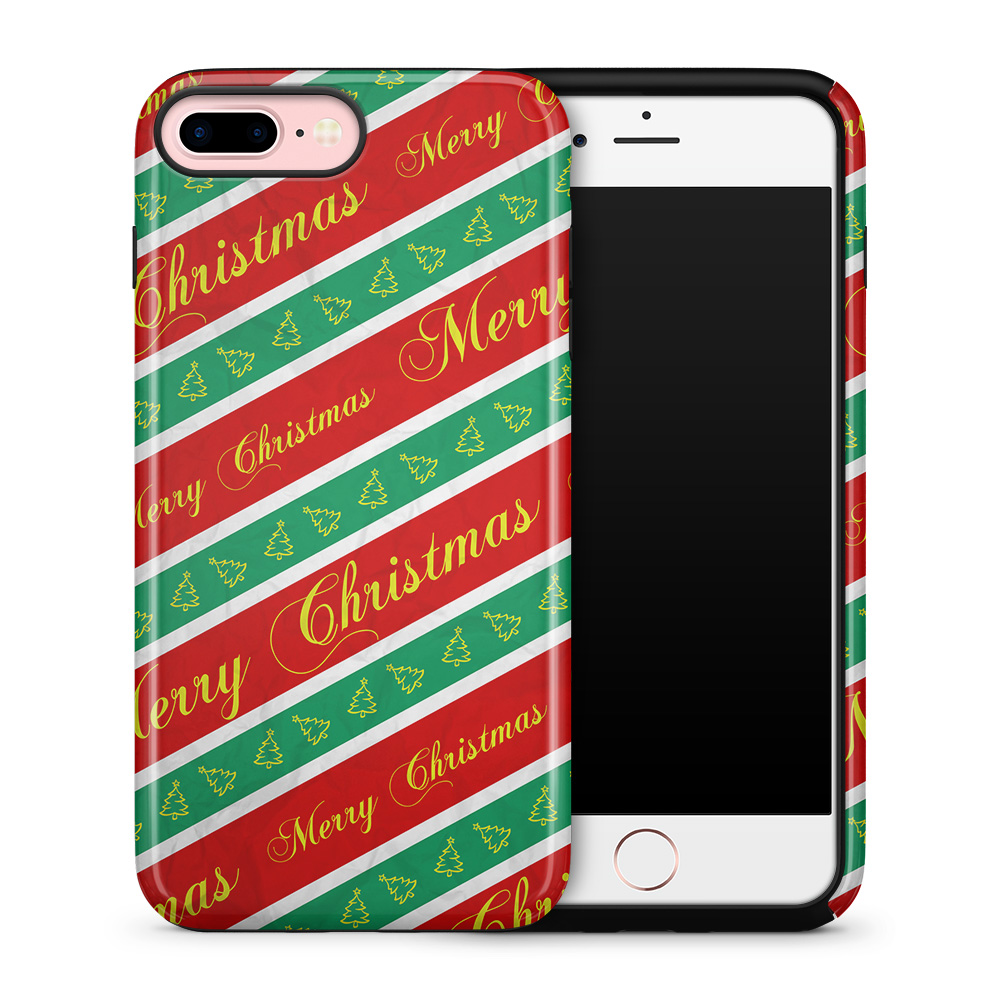 Tough mobilskal till Apple iPhone 7 Plus - Christmas Wrapping Paper