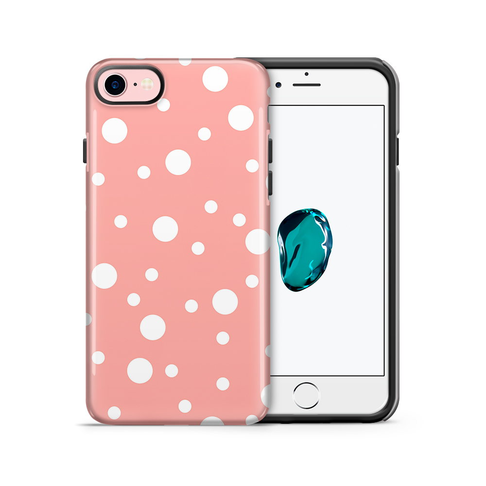 Tough mobilskal till Apple iPhone 7/8 - PolkaDots