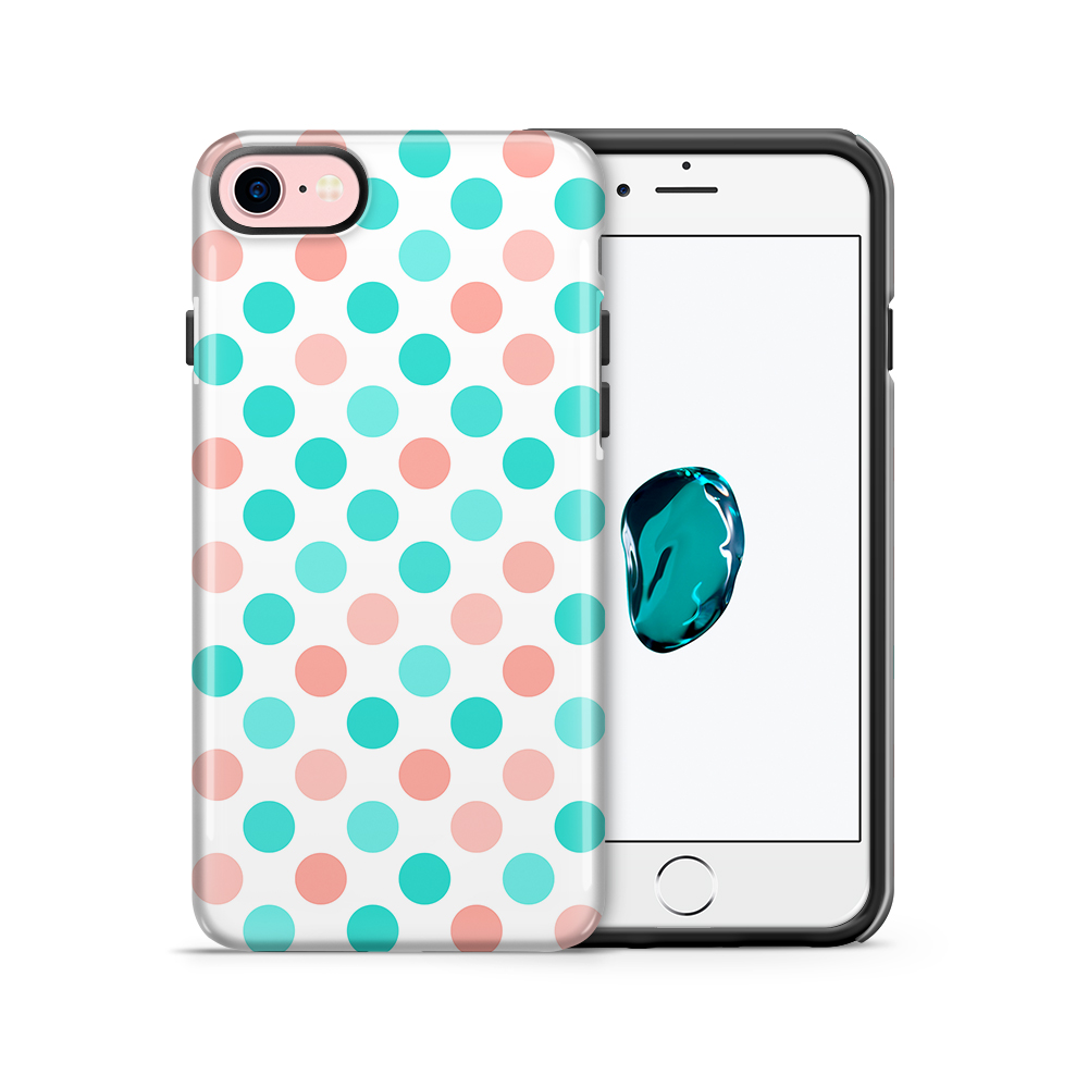 Tough mobilskal till Apple iPhone 7/8 - PolkaDots