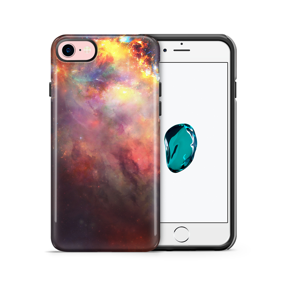Tough mobilskal till Apple iPhone 7/8 - Rymden - Svart