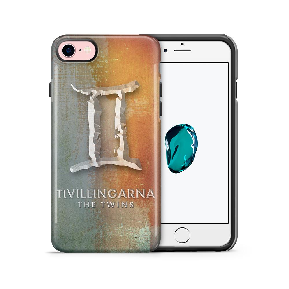 Tough mobilskal till Apple iPhone 7/8 - Stjärntecken - Tvillingarna