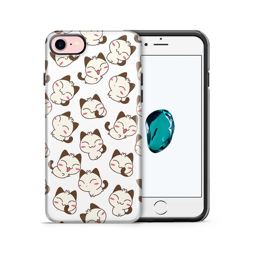 Tough mobilskal till Apple iPhone 7/8 - Manga - Katter