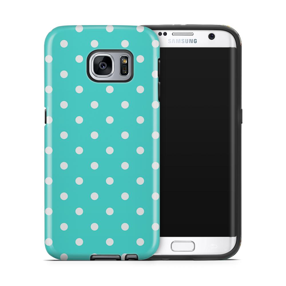 Tough mobilskal till Samsung Galaxy S7 Edge - PolkaDots