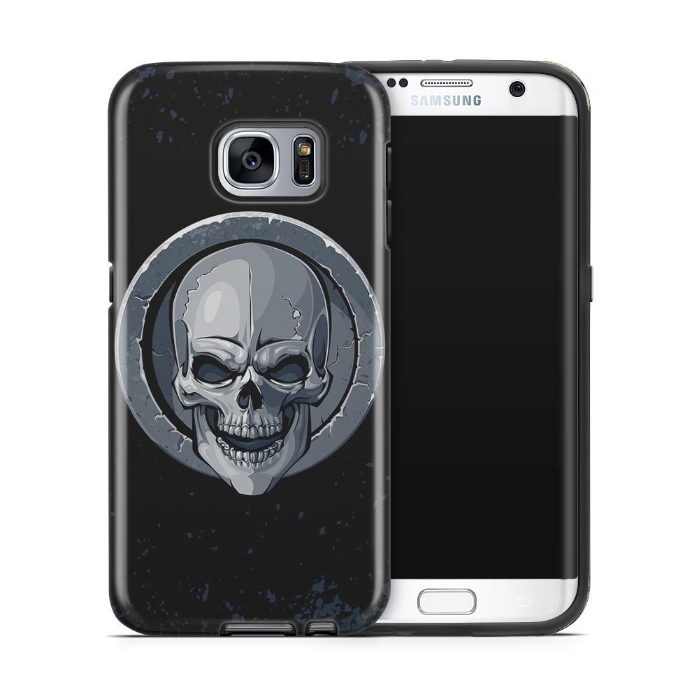 Tough mobilskal till Samsung Galaxy S7 Edge - Rock Skull
