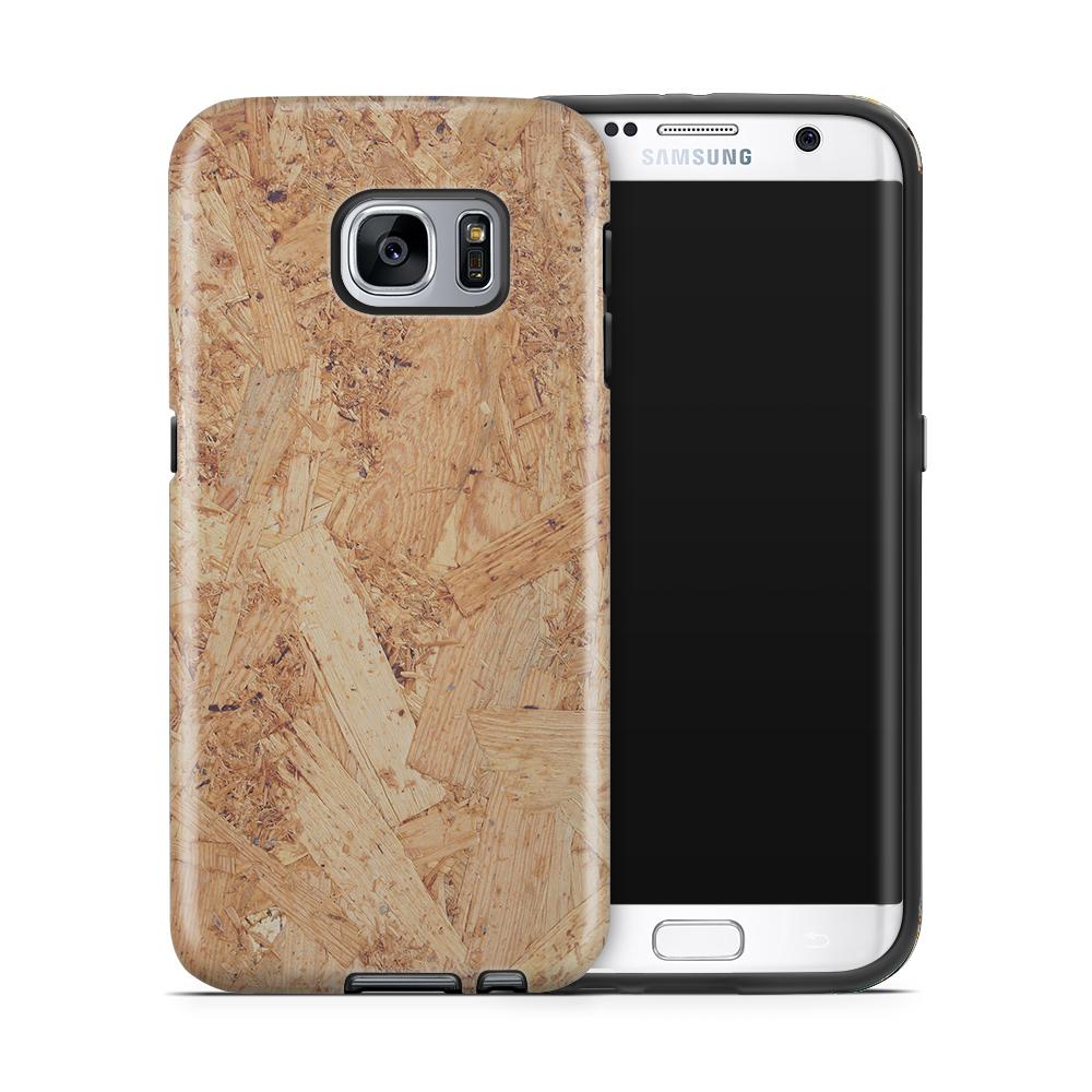 Tough mobilskal till Samsung Galaxy S7 Edge - Träflisor