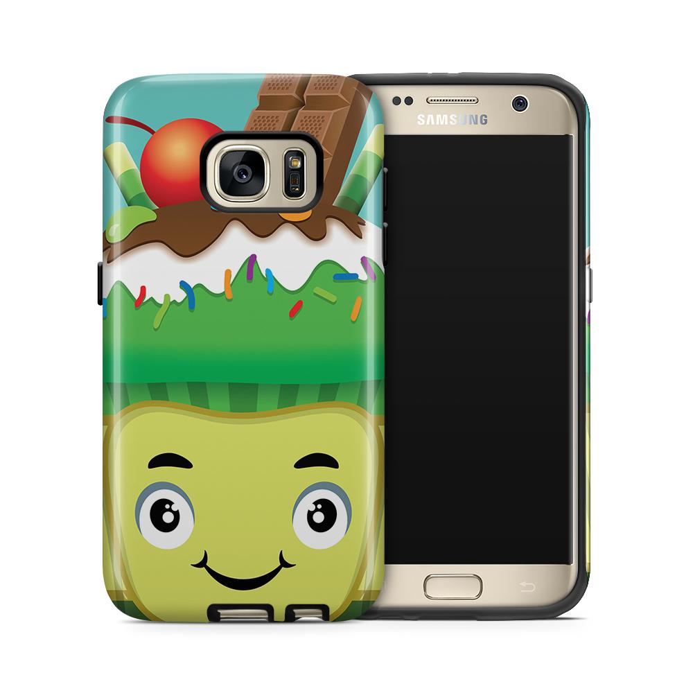 Tough mobilskal till Samsung Galaxy S7 - Godis monster