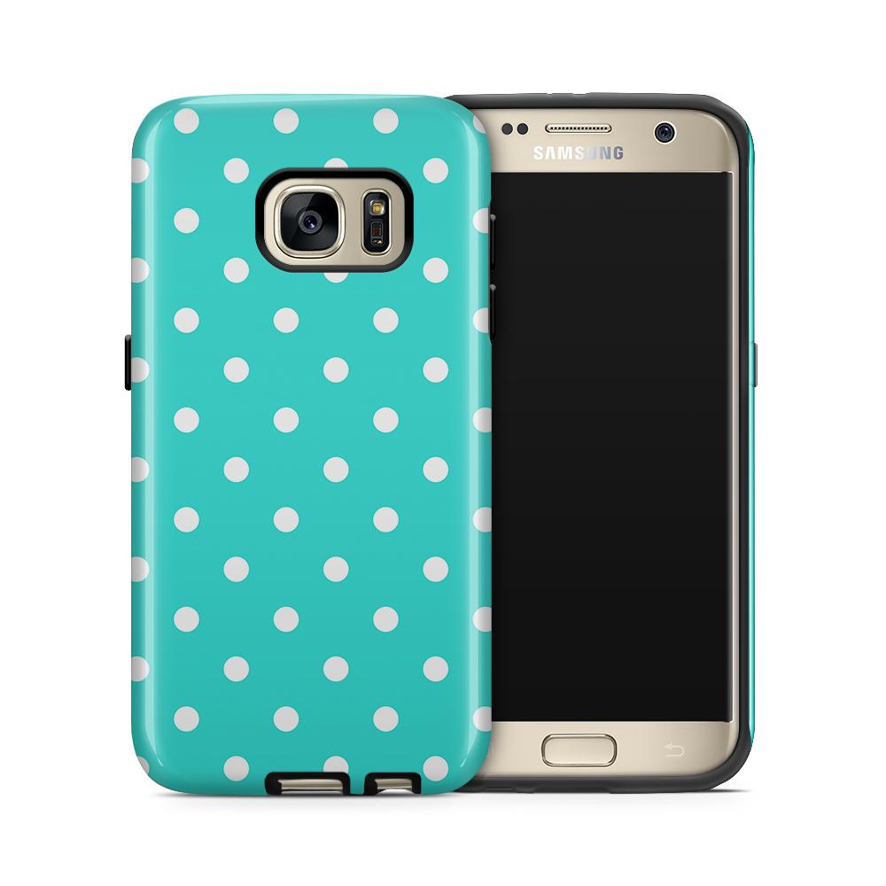 Tough mobilskal till Samsung Galaxy S7 - PolkaDots