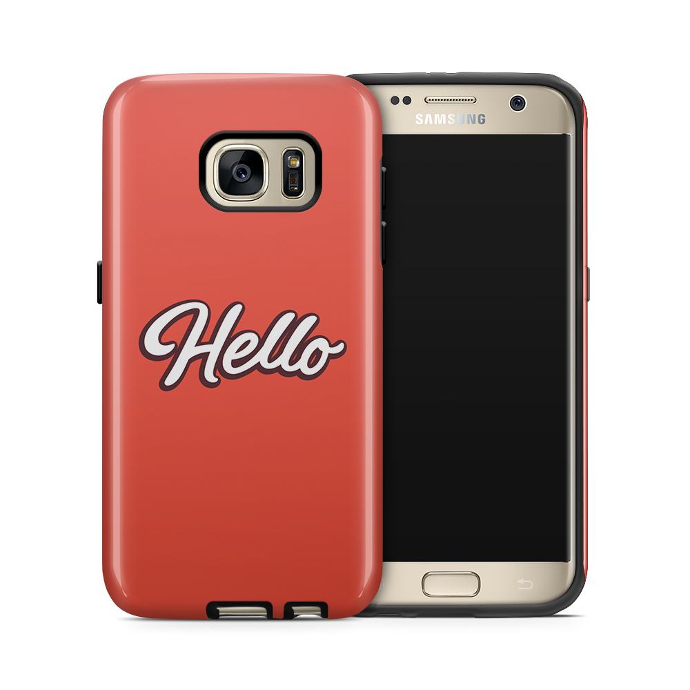Tough mobilskal till Samsung Galaxy S7 - Hello